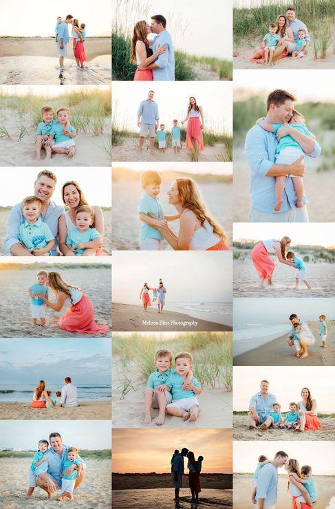 Virginia Beach Sunset Family Photo Sessions – Sarah Wright