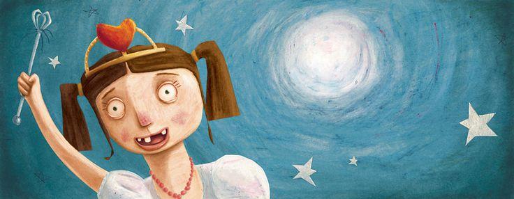 "Moran Barak book illustration for ""King Gogol""."