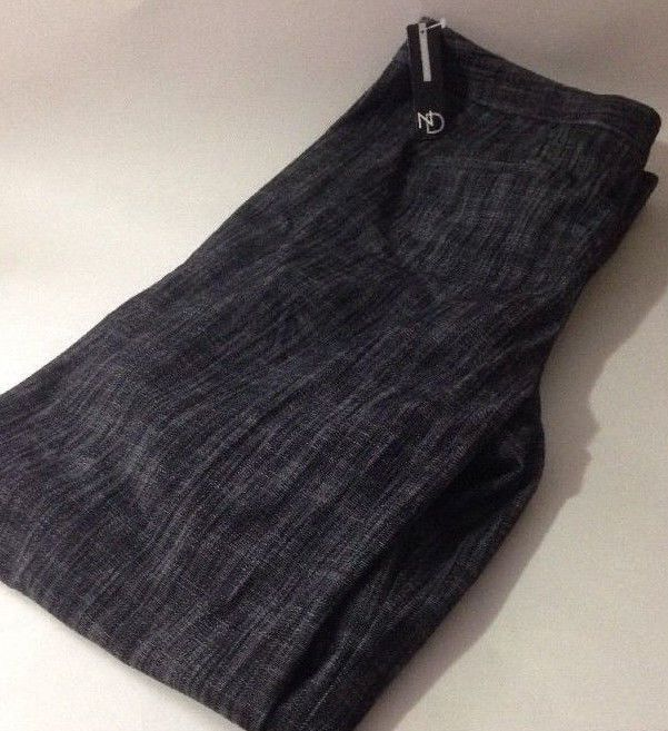 NWT New Directions Womens Misses Dark Gray Black Stretch Dress Pants Size 14 #NewDirections #DressPants