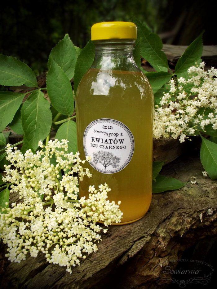Syrop Z Kwiatow Czarnego Bzu Sowiarnia Herbs Pure Leaf Tea Bottle Healthy Recipes