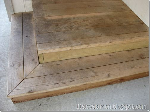 25 best ideas about garage steps on pinterest garage entryway garage stairs and entryway hooks - How to build a garage cheaply steps ...