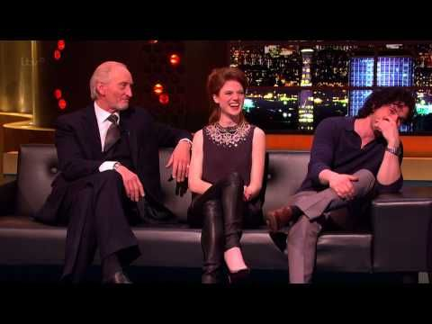 The Jonathan Ross Show with Game of Thrones cast.  Charles Dance flirts with Johnathon and it's hilarious.