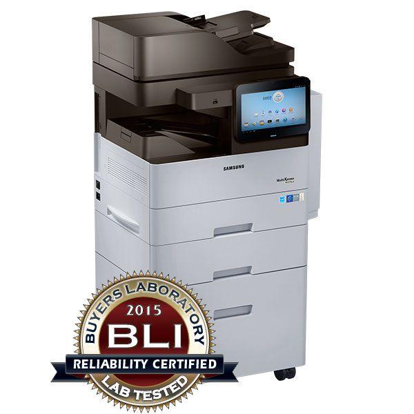 Samsung SL-M5370LX Print, copy, Scan, optional fax A4 mono multifunction 2015 BLI award 53 page a minute