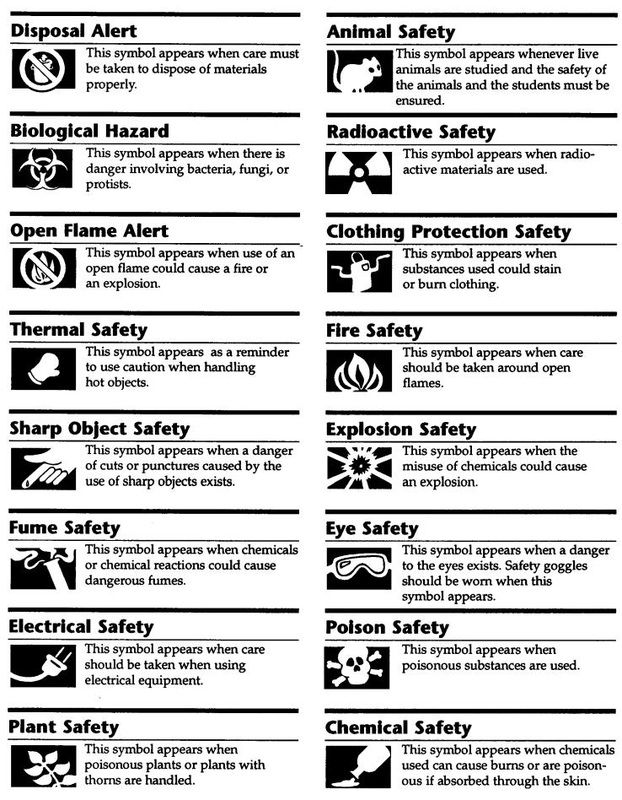14 Best Lab Safety Images On Pinterest Science Lab Safety