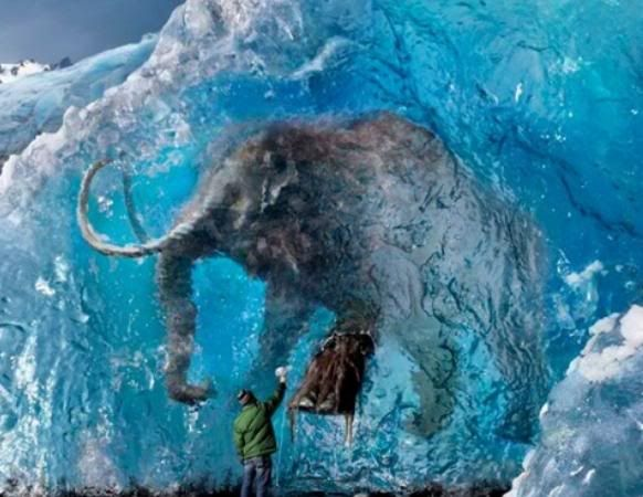 The Earth we... Man Frozen In Ice Alive
