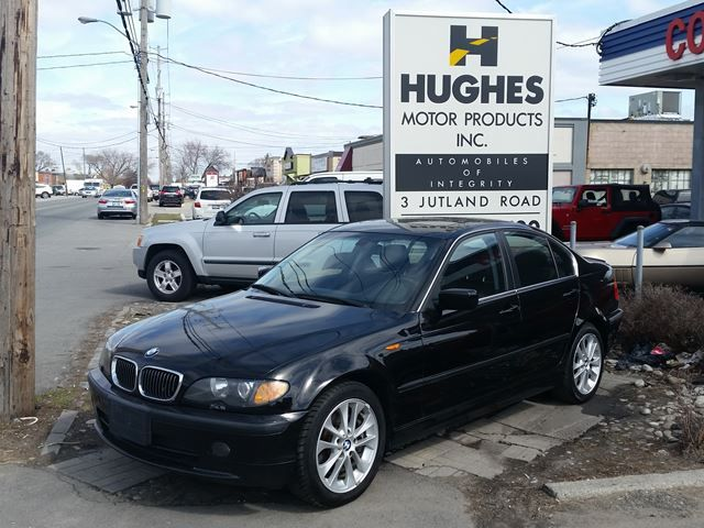 2005 BMW - 330XI AWD.  Other Features Inluded: Automatic, A/C, Power Glass Sunroof, Climate Control, Traction Control, Leather Interior, Alloy Wheels, Car Looks and Drives Great.<br><br>>>Vehicles guaranteed, e-tested and certified. All trade-ins welcome.<br>>> Financing available. All credit applications are accepted and reviewed regardless of credit rating. All trade-ins welcome. Hughes Motor Products 416-252-1100