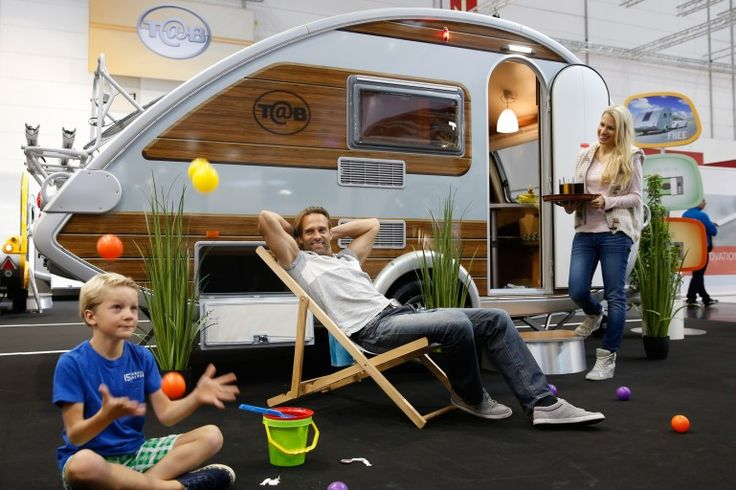 The T@b Woody at the 2014 Dusseldorf Caravan Salon (Photo: Messe Düsseldorf)