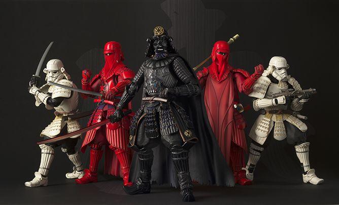 """Star Wars Samurai Figurines"" por Tamashii Motors   The Hype BR"