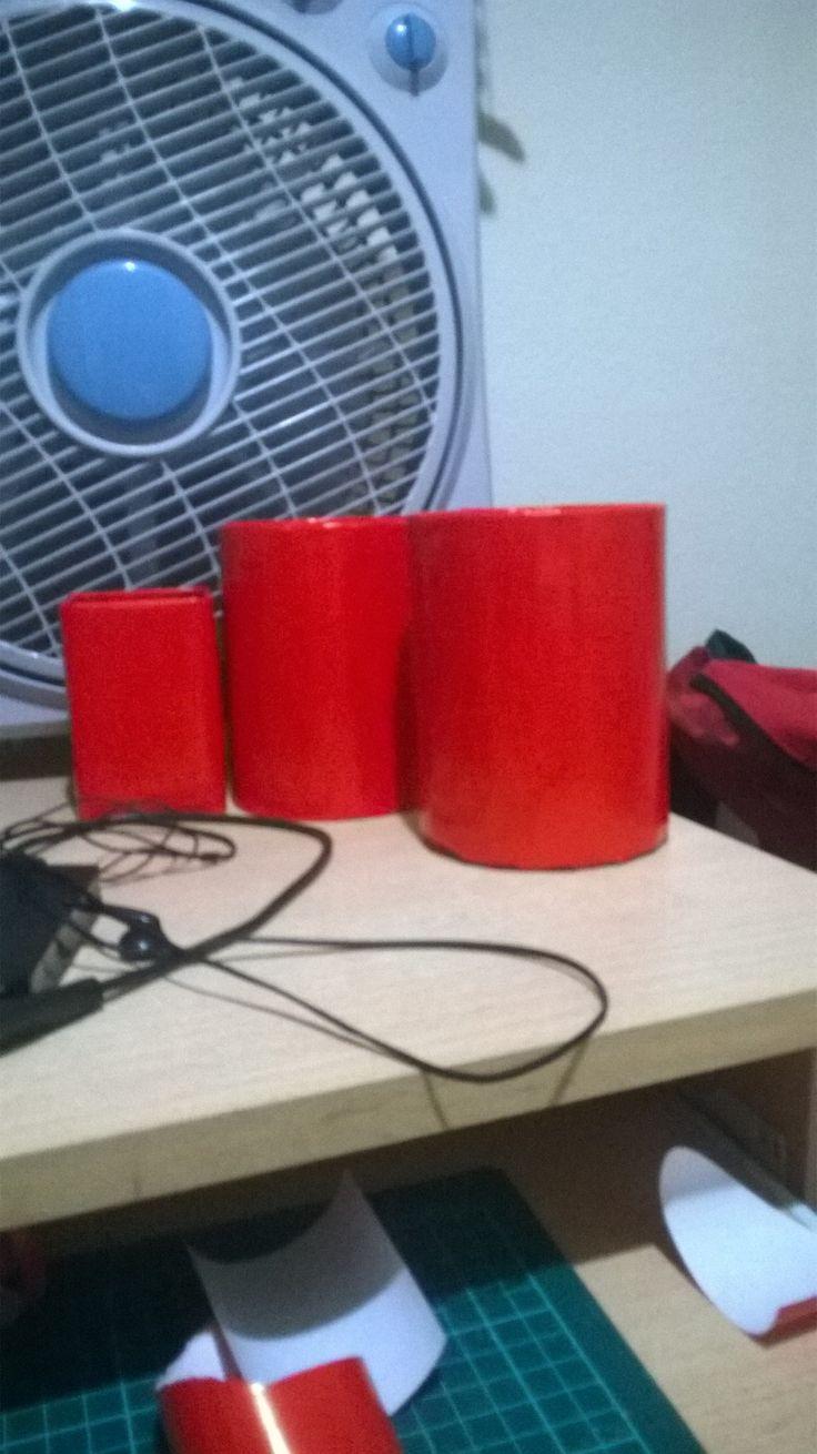 Box, red, pencilbox