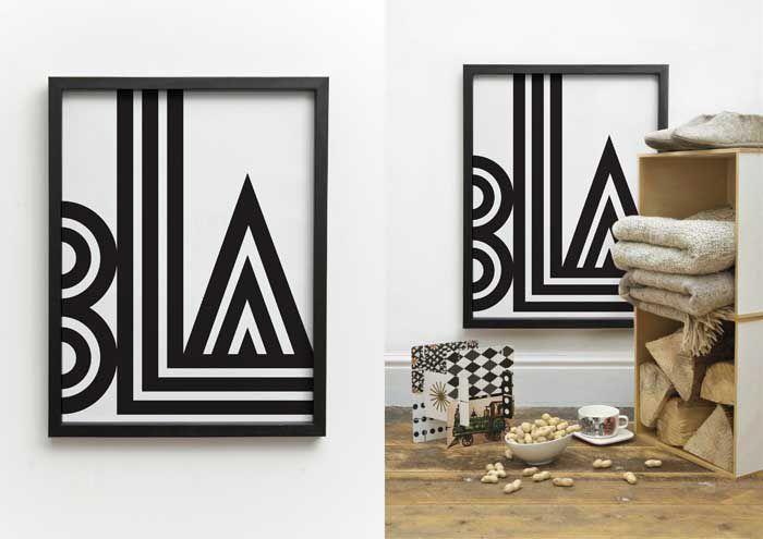 BLA « One must dash: Dash, Small Talk, Black And White, Art Prints, Bla Bla, Talk Print, Products