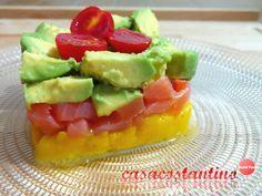 Un a ricetta semplice, veloce ma ricca di gusto, un antipasto colorato e leggero che vi conquisterà con i suoi sapori esotici