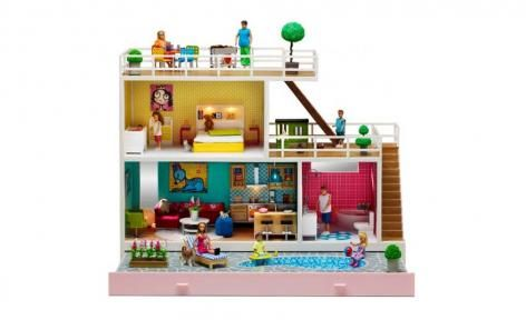 Stockholm 2013 Dolls House by Lundby
