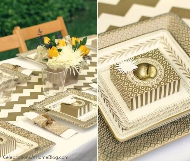 Easy Gold Party Decor for Special Celebrations