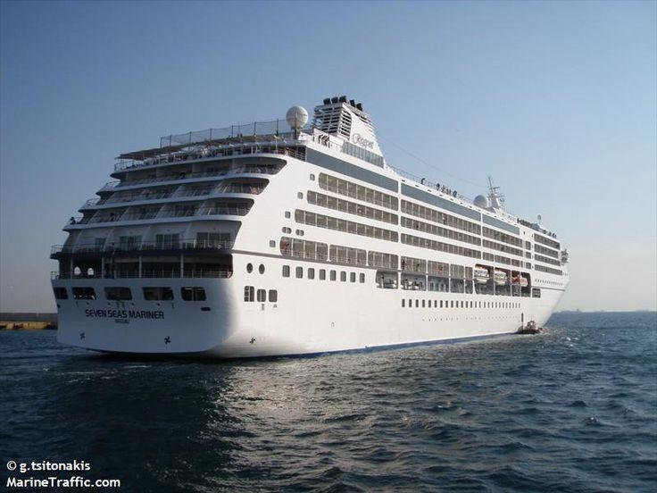Το Seven Seas Mariner αποπλέει από τον Πειραιά. 17/06/2011.