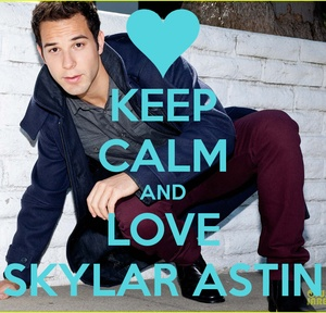 Keep calm and love Skylar Astin (from pitch perfect)