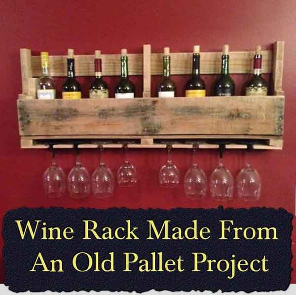 Welcome to living Green & Frugally. We aim to provide all your natural and frugal needs with lots of great tips and advice, Wine Rack Made From An Old Pallet Project
