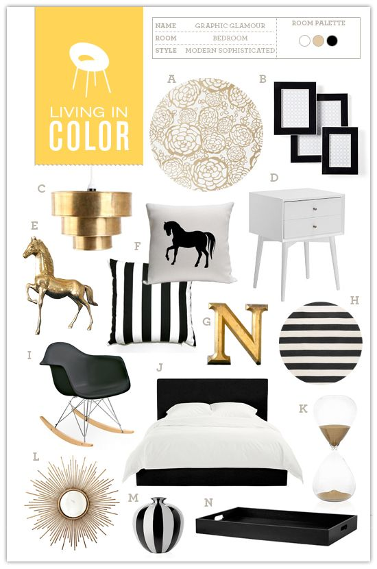 Love The Horse Stuff Li Living In Color Graphic Glamour Bedroom   Somewhere  Splendid Part 69