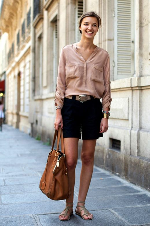 effortlessly chic (casual fashion on the streets of paris)