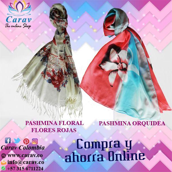 """#SabiasQue... #Pashmina es un nombre que se deriva del persa """"Pashm"""" y significa #lana.  Las #Pashminas #Carav son elaboradas en la region de #Cachemira al norte de #India por nuestros #artesanos. Pide la tuya aquí:https://goo.gl/YJ5xMj Más info por inbox o whatsapp📲3156711224 ✈️ Envios 100% seguros a todo el país 🇨🇴 #Colombia #FleteGratis #chal #stall #accesorios #Mujer #MiRegaloFavorito #Colores #Flores #DiaDeFrio #calor #elegancia #Rosas #orquideas #moda #tendencia #estilo…"""
