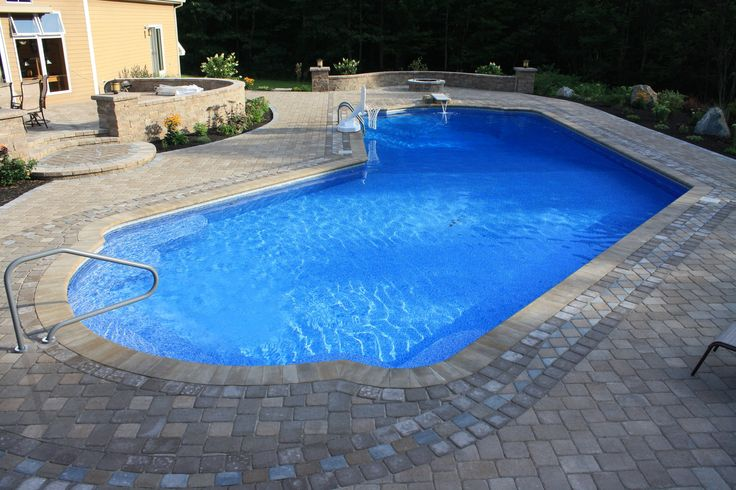 22 Best In Ground Gallery Images On Pinterest Maine Pools And Swiming Pool