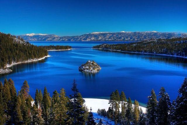 TOP WORLD TRAVEL DESTINATIONS: Lake Tahoe, California and Nevada, USA