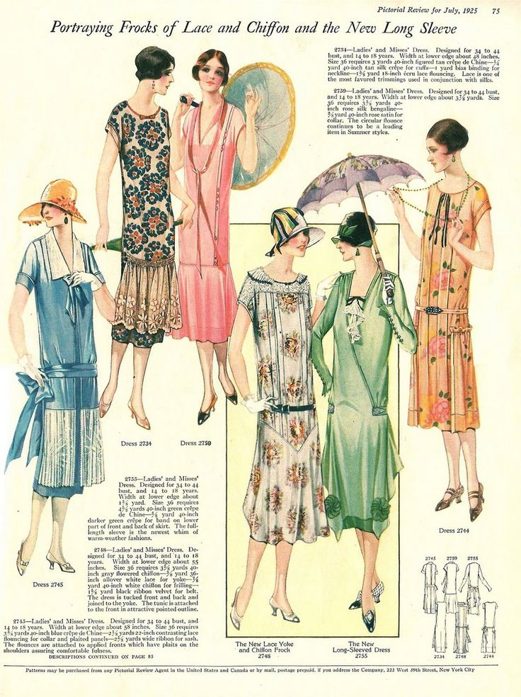 The Pictorial Review, July, 1925, Summer Frocks and Fashion 3 on Flickr.    Click image for 957 x 1280 size.  Found in I'm Learning To Share!