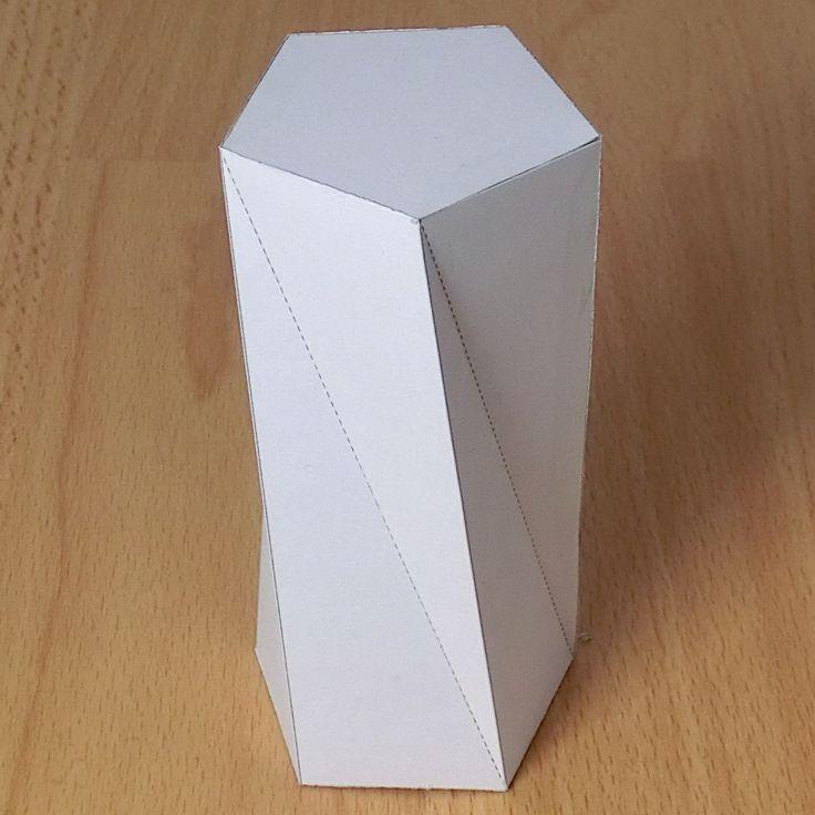 prisma pentagonal torcido