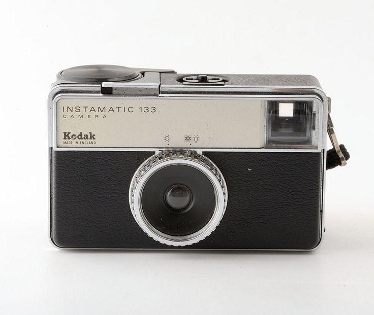 Kodak Instamatic 133 126 Film Camera Working Shutter by Tiddalik