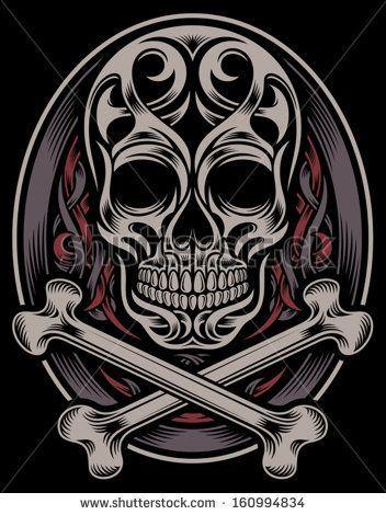 The 1175 Best Skulls Images On Pinterest Skull Art Skulls And Bones
