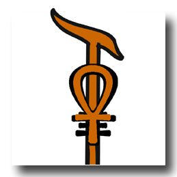 staff of Ptah, Egyptian Good Luck Symbol for manifesting