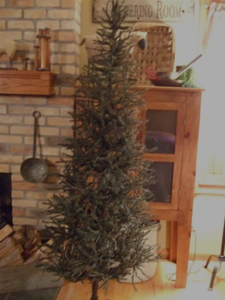 Primitive German Twig Christmas Tree! I will have one of these trees! :)    Primitive/Colonial Christmas   Pinterest   Christmas, Twig christmas tree  and ... - Primitive German Twig Christmas Tree! I Will Have One Of These Trees