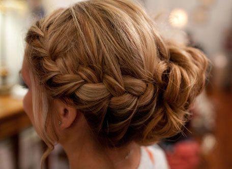 braided updo-looove this: French Braids, Hair Ideas, Hairstyles, Braids Updo, Makeup, Beautiful, Hair Style, Side Braids, Braids Buns
