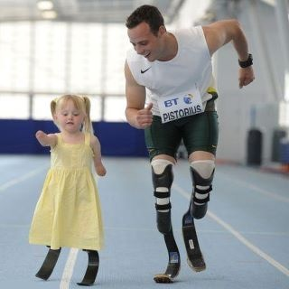 Where there is a will, there is a way. <3Little Girls, Life, Heart, Bad Attitude, South Africa, Blade Runners, Inspiration Quotes, Positive Attitude, Oscar Pistorius