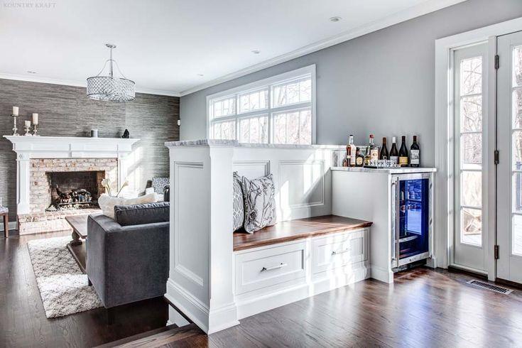 Natural Walnut Kitchen Island In Summit New Jersey: 17 Best Ideas About Wine Fridge On Pinterest