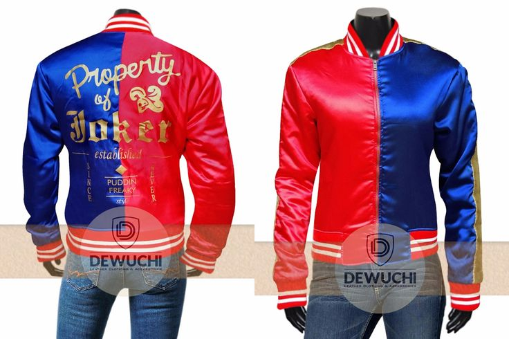 Now it's Time for You to Get a Hold on to This Harley Quinn Jacket. Dewuchi.com Introduce Harley Quinn Suicide Squad Jacket for Girls. Hot & Stylish Margot Robbie Worn This Attractive Jacket in Movie Suicide Squad as Harley Quinn. Made from Soft Synthetic Leather. Available at Our Online Store in Discounted Price  #harleyquinn #suicidesquad #parties #shopping #fashion #womanfashion #girlsfashion #beautiful #cute #sexy #supersexy #stylish #famous #winterfashion #fashionstyle #casual #lovers