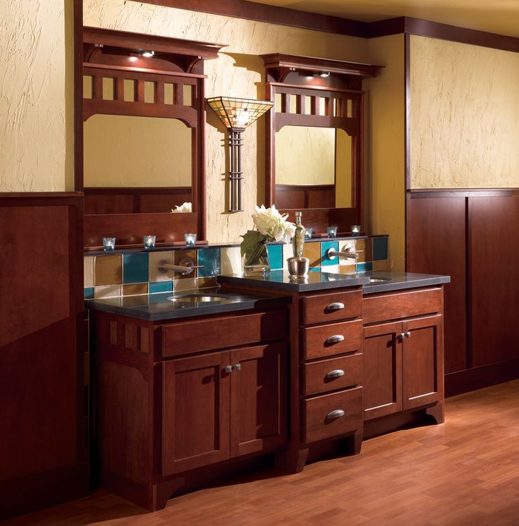 bathroom vanity | Arts & Crafts (and similar aesthetics ...