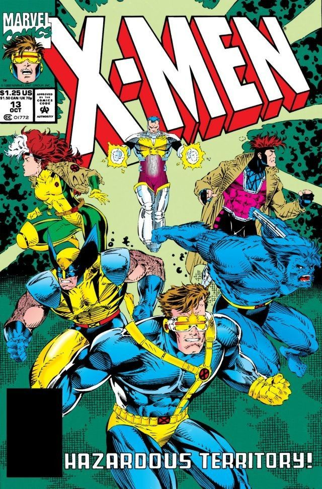 X Men 13 Hazardous Territory October 1992 Comics Marvel Comics Covers X Men
