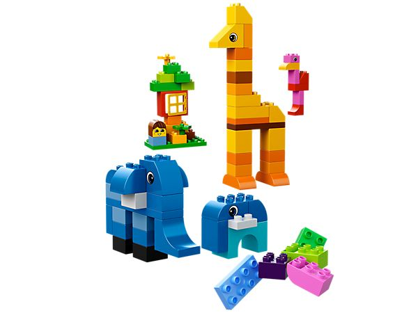 Build a LEGO® DUPLO® fantasy land of towers, dragons and cute animals!...10557...LEGO® DUPLO® Giant Tower