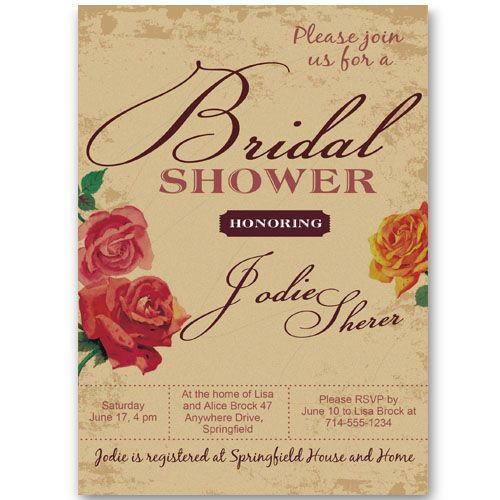 The 25 best Cheap bridal shower invitations ideas on Pinterest