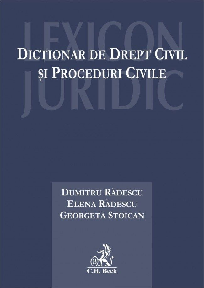 Dictionar de drept civil si proceduri civile