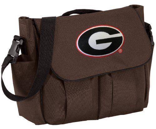 Georgia Bulldogs Diaper Bag Stylish Brown Official College Logo University of Georgia - Baby Bag - BEST Baby Shower GIFT for New Dad, Father or New Mom Mother GIFTS Broad Bay. Save 33 Off!. $39.99