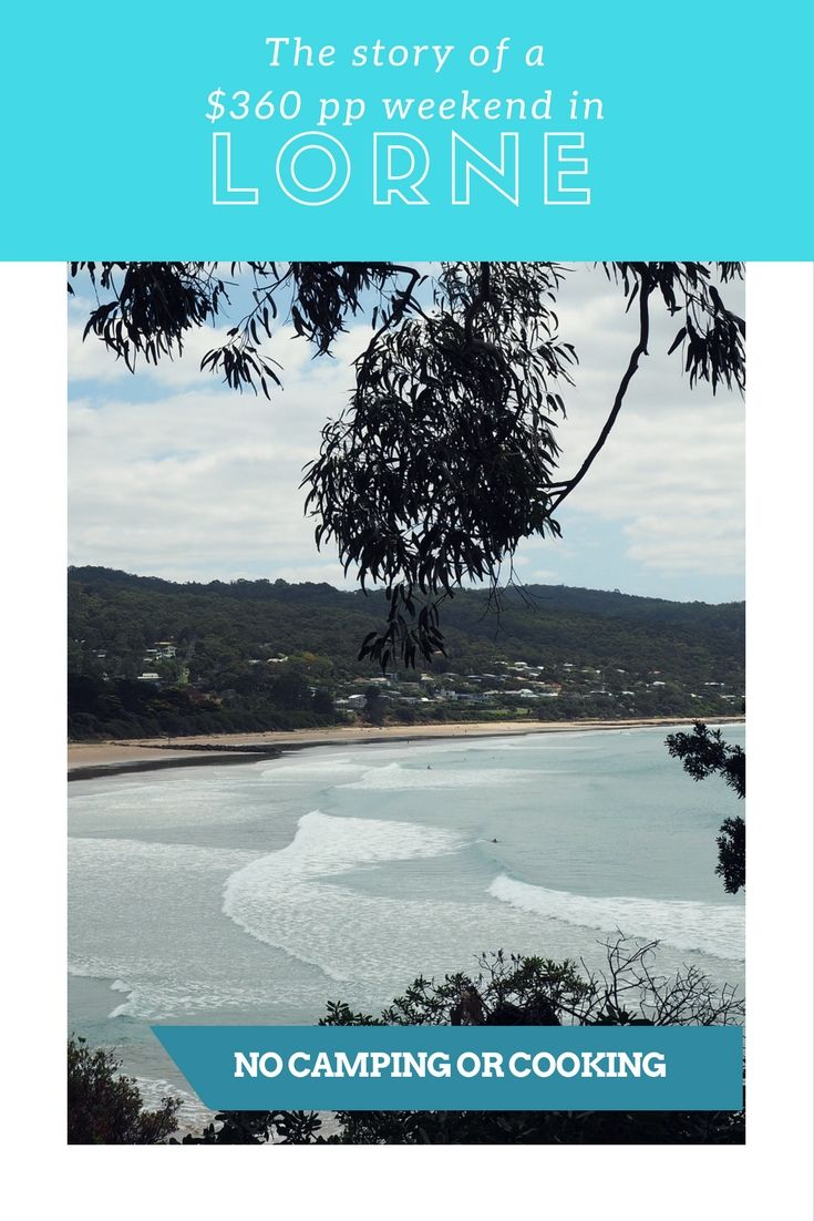 The story of a weekend in Lorne, a popular waterfront town only a two hour drive from Melbourne along the spectacular Great Ocean Road.