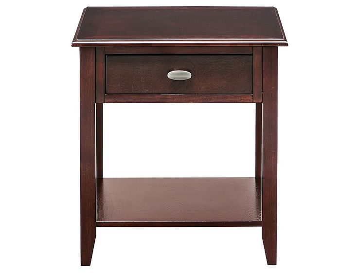 radcliffe collection merlot end table