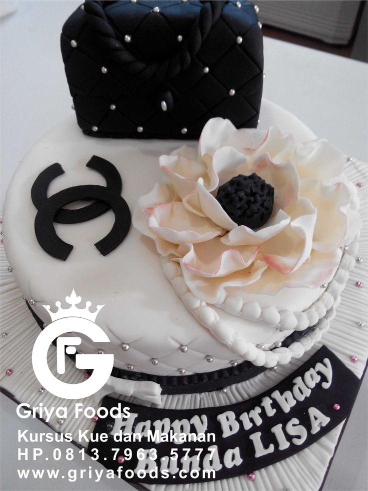 Berbagai bentuk Kue Ulang Tahun dengan hiasan Fondant