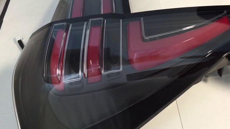 Tail Lamp Innova reborn  New Style Clear Lens - Led Bar Red - Black JDM ...