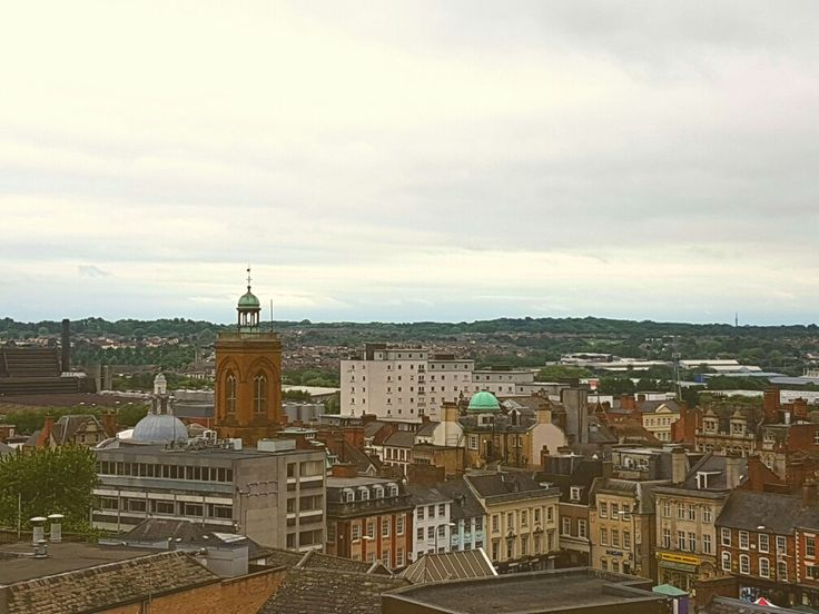 Northampton Town Centre. UK