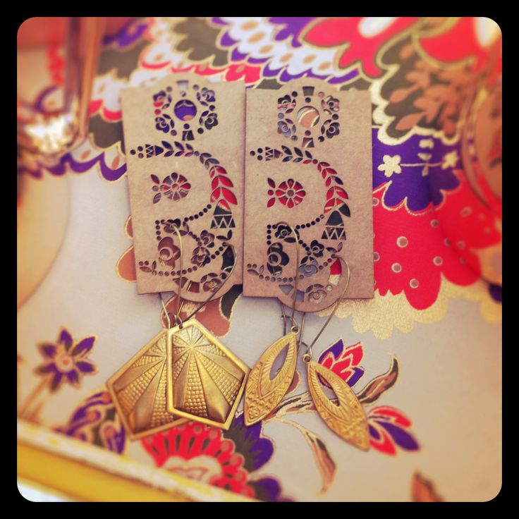 Vintage charm earrings available at Bella Emporio in Rozelle