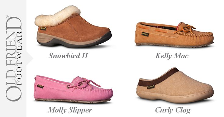 Home for the Holidays this year? Give your feet a hug this season with a new pair of Old Friend Slippers!