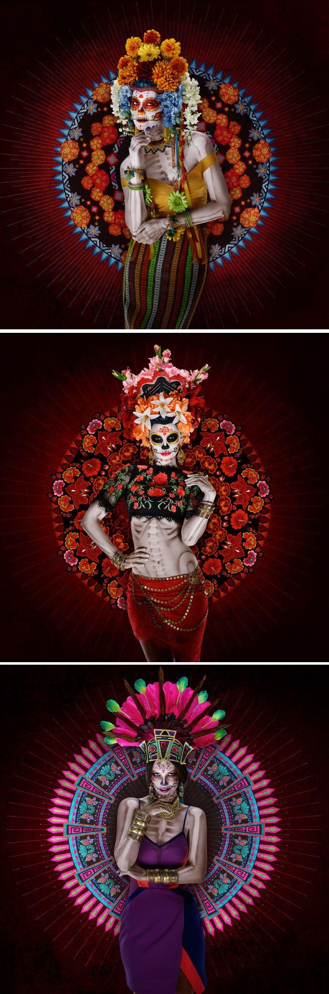 10 Ilustraciones tributo al Día de Muertos 2015 - Diseño Latinoamerica