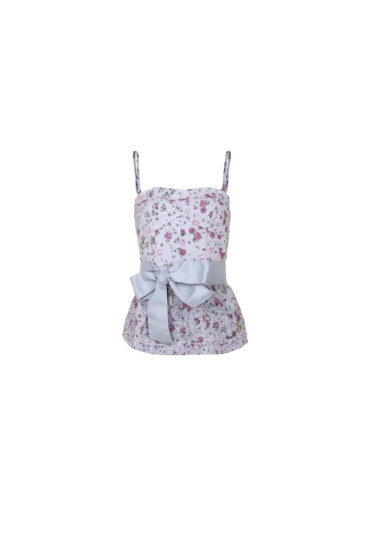 Maison Espin top ss13, #maisonespin #springsummercollection13 #womancollection #top #lovely #MadewithLove #romanticstyle #milano #flowers